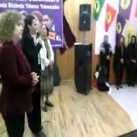 Esin Akgül Güneş'in Dünya Emekçi Kadınlar Günü etkiliğindeki konuşması