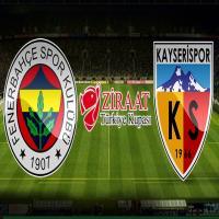 Fenerbahçe 1-2 Kayserispor maç özeti
