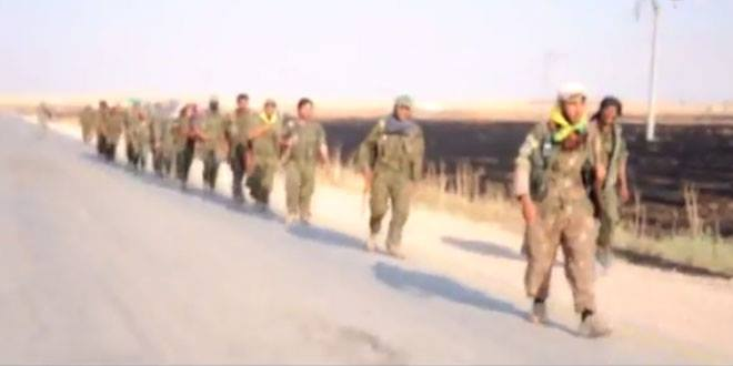 YPG/YPJ savaşçıları Tel Abyad'a böyle girdiler
