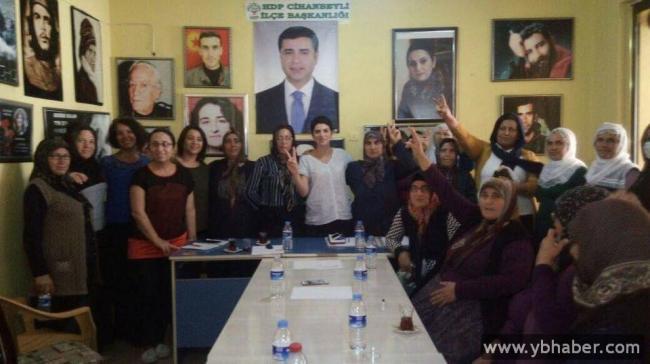 Cihanbeyli Hdp İlçe Örgütünde Kadın Meclisi Toplandı
