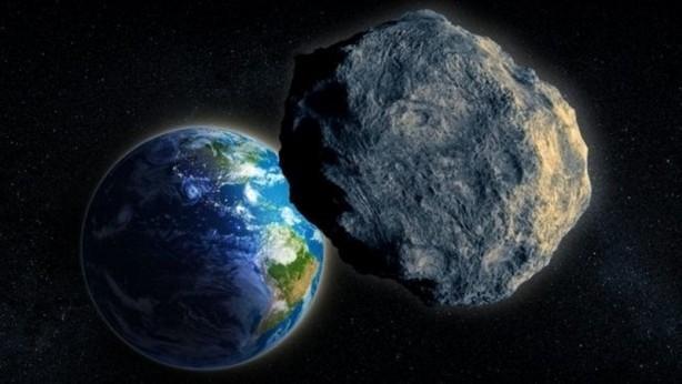 Dev meteor Dünya'ya böyle çarptı!