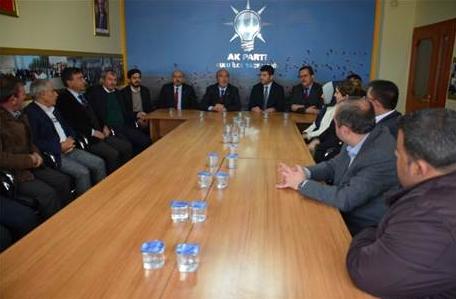 AK Parti Konya İl Başkanlığı ilçe ziyaretlerine başladı