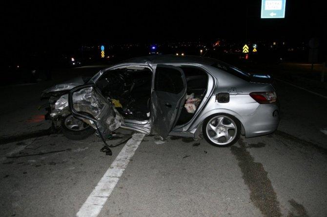 Kulu'da trafik kazası: 1 ölü, 3 yaralı