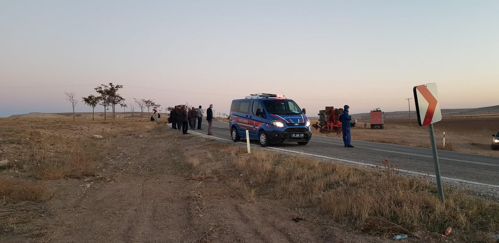 Kuşca'da Trafik Kazası : 1 Yaralı