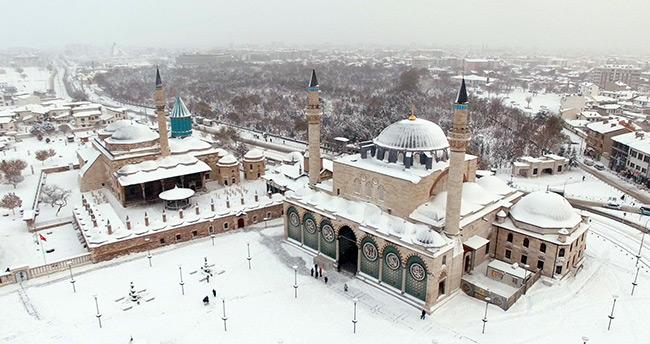 KONYA kar geliyor! İşte 5 günlük Konya'da hava durumu