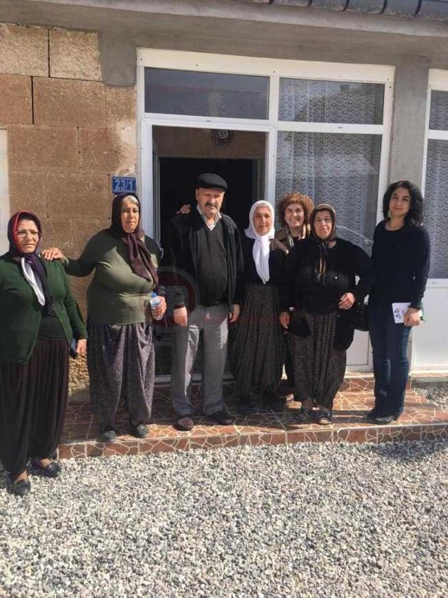 HDP Kuşça Seçim Çalışmasından Görüntüler