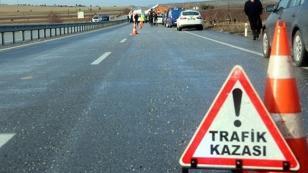 Konya'da otomobille kamyon çarpıştı: 1 ölü