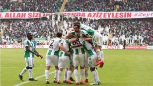 Spor Toto Süper Lig: Atiker Konyaspor: 2 - Kayserispor: 0