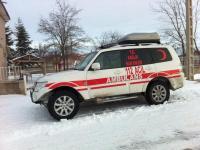 Yeniceoba 112 Acil Servisine Kar Ambulansı