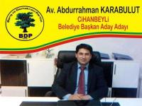 Bdp Cihanbeyli Belediye Başkan Aday Adayı