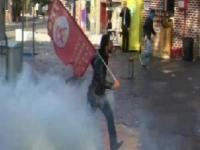 Beşiktaş'ta gruba polis müdahale etti
