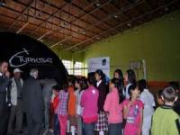 Kulu'da Uzay Çadırı'na Öğrencilerden Yoğun İlgi