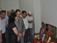 Cihanbeyli Halk Eğitim Merkezi  Öğrenme Şenlikleri Yıl Sonu Sergisi Açılışı Yapıldı