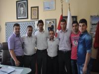 Ak Parti Gençlik Kolları Cihanbeyli Belediyesini Ziyaret Etti