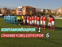 Cihanbeyli Belediyespor  6 - 1 Konya Monivaspor