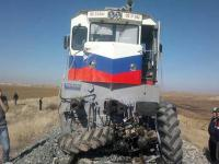 Konya'da Tren Kazası