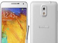 Galaxy Note 3'ün Yeni Renkli Yüzleri