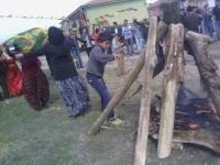 Kulu'da Yılın İlk Newroz Ateşi Celep'te Yakıldı