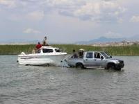 Konya'daki göllere 'bilimsel araştırma teknesi'