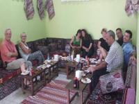 Turistler Yeniceoba'da Gezdi