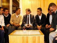 Başbakan Davutoğlu'ndan taksicilere ziyaret