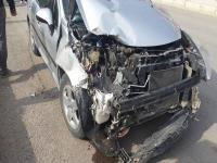 Yeniceoba'da Trafik Kazasi