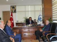 Ak Parti Konya Milletvekili Kerim Özkul'dan Başkan Kale'ye Ziyaret