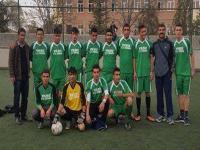 Yeniceoba Lisesi Futbol Takımı 2. oldu