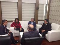 Başkan Kale'den TRT Genel Müdürüne Ziyaret