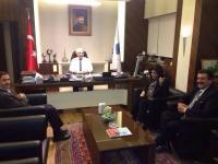 Başkan Kale'den TEİAŞ Genel Müdürü'ne Ziyaret
