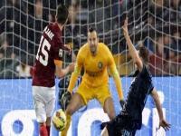 Mancini Roma karşısında darma duman oldu!