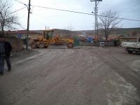 Cihanbeyli'de Mahalle Yolları Asfaltlanıyor