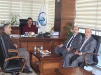 Konya Şoförler Odası Başkanından,Başkan Kale'ye Ziyaret