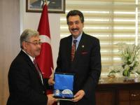 Kulu Belediye Başkanı ve Rişvan Aşireti Konfederasyon Başkanından Başkan Kale'ye Ziyaret