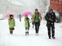 Konya Merkez ve 27 İlçede Okullara Kar Tatili