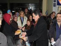 Cihanbeyli Belediyesi Yolda Kalanların Yardımına Koştu.