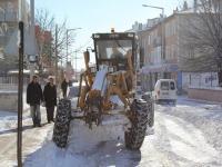 Cihanbeyli'de kar seferberliği