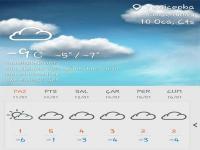 Yeniceoba'da Kar Yağışı Bugünde Devam Ediyor