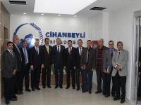 CİHANBEYLİ'DE KOP YEREL YÖNETİMLERİ GÜÇLENDİRİLMESİ TOPLANTISI