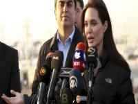 Kürdistan Bölgesi'ne giden Angelina Jolie'den dünyaya çağrı
