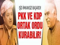 IŞİD imkansızı yaptı! PKK ve KDP ortak orduya doğru...