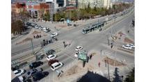 Konya'da Türkiye'ye örnek sinyalize kavşaklar yapılıyor
