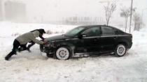 Konya'da kar yağışı var mı ? Okullar Nerede Tatil ?