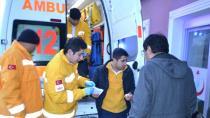 Kulu'da Görevden Dönen Ambulans Kaza Yaptı: 1 Yaralı