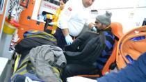 Kulu'da Otomobil Refüje Çarptı: 2 Yaralı