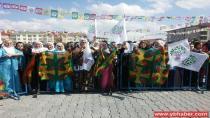 İç Anadolu'da Newroz ateşi yakıldı