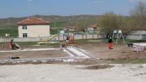Cihanbeyli'de Mahallelere Park Yapılıyor...