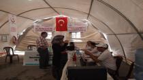 Cihanbeyli'de Sağlık Çadırı Kuruldu