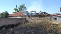 Karacadağ'da Yangın