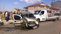 Cihanbeyli'de feci kaza: 9 yaralı